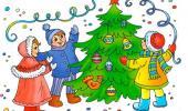 """Музыкальное развлечение """"Прощание с новогодней  ёлочкой"""""""
