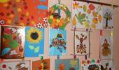 Осенняя выставка детских творческих работ.